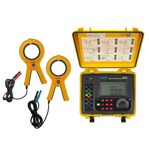 Double Clamp Multi function Earth Resistance Tester With Earth Resistance 2000