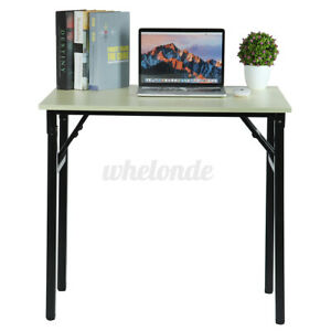 Home Office Computer Desk Workstation Wood Laptop Pc Table Height Adjustable Usa