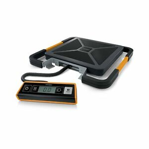 Portable Digital Shipping Postal Scale 400 lbs Weighs Usb connect Plastic Black