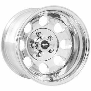 Pro Comp 69 Series Vintage 15x8 Wheel With 5 On 4 5 Bolt Pattern Polished