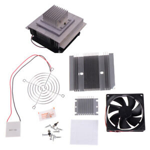 60w Tec1 12706 Thermoelectric Peltier Module Water Cooler Cooling System odgf