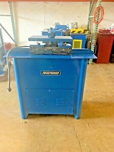 Used Lockformer 20 Gauge Pittsburgh Machine With Auto Guide Flanging Attachment