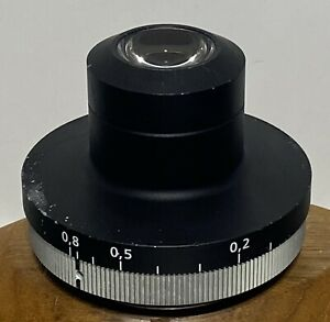 Zeiss 1087 444 0 8 Strain Free Pol dic Condenser For Axio Microscope