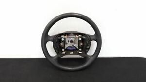 03 Ford Mustang Cobra Oem Steering Wheel With Cruise Control Black Gray Leather