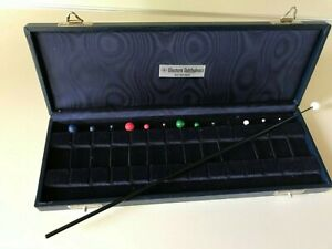 Vintage Ophthalmic Visual Field Test Objects Case With Wand Sbisa Co Italy