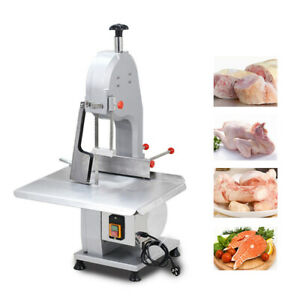 1500w Commercial Electric Bone Saw Machine Meat Cutter Frozen Meat Cutting 110v