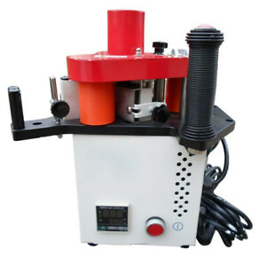Portable Woodworking Edge Banding Machine Straight Or Curved Lines Bander 220v