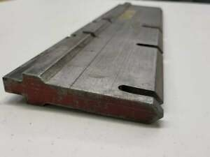 Press Brake Tooling Forming Punch 32 With Reliefs Cut In 17 5 Long Free Ship