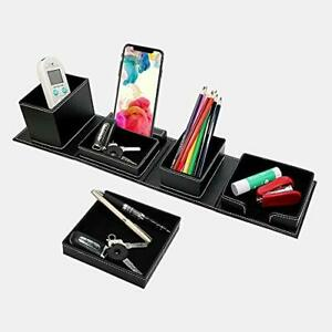 Cxle Leather Desk Organizers Cubical Decorations Office Desk Accessories And