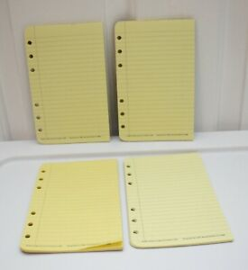 Compact Franklin Covey Swing Pad Refill Co 18388 Yellow Lined 4 Pads Pre owned