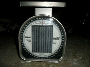Pelouze Y50 50lb Heavy Duty Mechanical Package Postal Scale Made In The Usa 2002