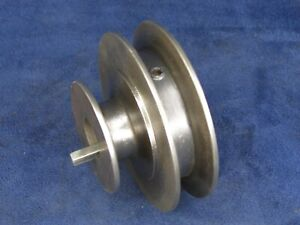 South Bend 9 Or 10k Two step Motor Pulley 3 4 Bore Pt2131nr1 Free Ship 6625