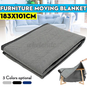 72 x40 Moving Blanket Pro Shipping Protection Furniture Recycled Cotton Pads