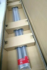 Thk Sf30g6 976le Round Linear Bearing Rail lot Of 2