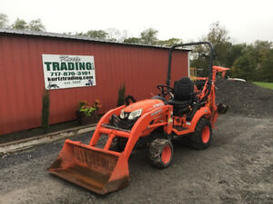 2017 Kubota Bx23s 4x4 Hydro 23hp Compact Tractor Loader Backhoe W 1000hrs