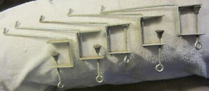 Vintage Store mount To Counter Top Spin Display Rack Hooks rare lot Of 5