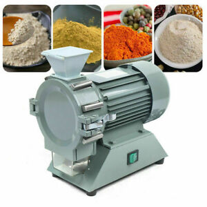 Micro Plant Grinding Machine Grain Mill Plant Pulverizer Continuous Crusher 110v