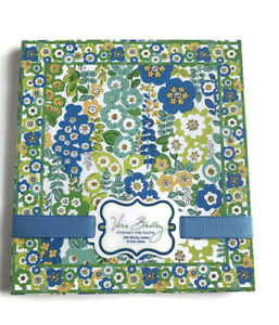 Vera Bradley Forget me nots Sticky Note Set English Meadow
