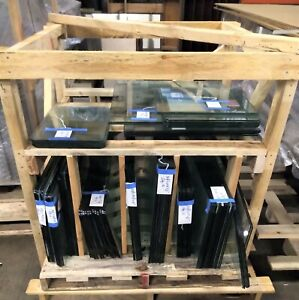 Tempered Glass Safety Glazing Panels Various Sizes Shapes see Description