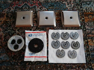 Vending Northwestern A a Parts Lot 25 Cent Coin Wheels Lids Stand Flange