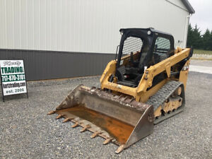 2015 Caterpillar 249d Compact Track Skid Steer Loader Super Clean Only 2200hrs