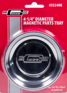 Mr Gasket Magnetic Parts Tray 4 25in Round P N 33240g