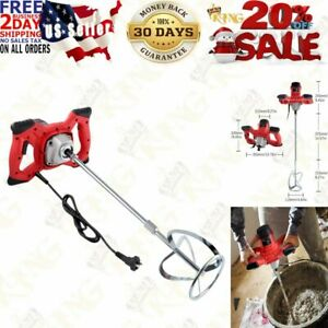 2100w Electric Handheld Cement Mixer portable Mortar Concrete Mixer Drill With