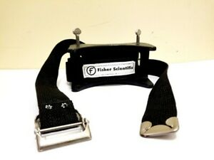 Fisher Scientific 95865 6 Gas Cylinder Holder Clamp With Straps