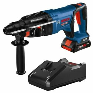 Bosch 18v Ec Corded Brushless Sds plus 1in Rotary Hammer With Battery