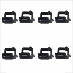 8 Pcs Truck Cap Topper Shell Mounting Clamps Heavy Duty Camper Tl2002 For Dodge Fits Dodge Ram 1500