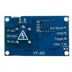 6 30v Relay Module Switch Trigger Time Delay Circuit Timer Cycle Adjustable