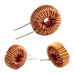 5pcs New Toroid Core Inductors Wire Wind Wound Diy Mah 100uh 6a Coil