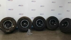 2017 20 Ford Raptor F150 17 Inch Oem Alloy Beadlock Wheel Set With Tires