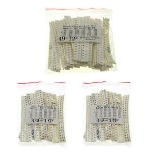 Smd Capacitor Pack 1206 0603 0805 Smd Chip Fixed Capacitor Kit 36 Value X 20pcs
