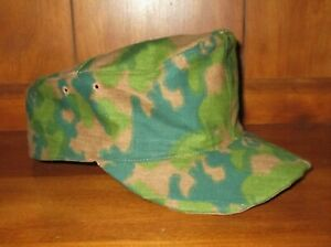Palm version 2 German WW2 cap Made from SM Wholesale pattern camo size 59 $40.00