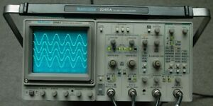 Tektronix 2245a 100 Mhz Oscilloscope Calibrated Two Probes Power Cord