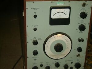 Beat Frequency Oscillator Type 1014 Nice Working Condition No Probes Or Manual