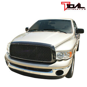Tidal Upper Full Grill Main Replacement Grille Fit 02 05 Dodge Ram 1500 2500