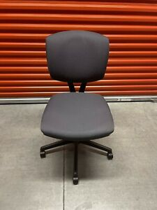 Hon Volt Office Computer Chair Swivel Task Fabric Side Guest Conference Drafting