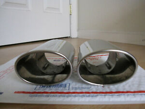 Set Of 2 Oem 2006 2015 Lexus Is250 Is350 Chrome Extension Exhaust Tips Pipes