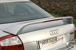 Audi A4 8e Genuine Rieger Rear Wing Spoiler New