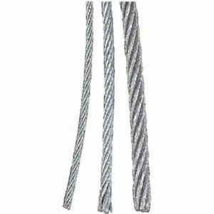 Galvanized Wire Rope 1 16 7x7 Aircraft Cable 2500 Ft
