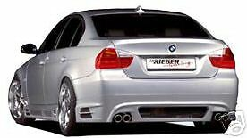 Bmw Genuine Rieger E90 3 Series Rear Apron Spoiler