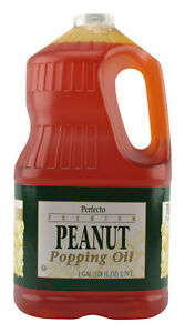 Peanut Oil 1 Case Of 4 Gallons Popcorn Popping Oil