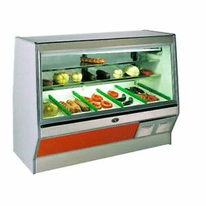 Marc Refrigeration 12 Double Duty Deli Case Meat Case Self Contained
