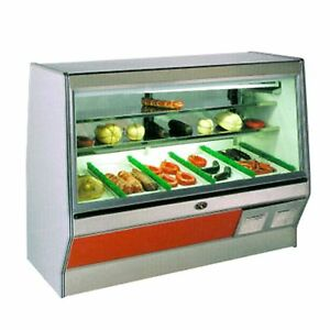 Marc Refrigeration 6 Double Duty Deli Case Meat Case Self Contained