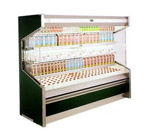 Marc Refrigeration 6 Open Refrigerated Dairy Case Remote Od 6r