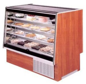 Marc Refrigeration 48 Dry Bakery Case Flat Glass