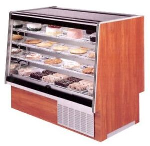 Marc Refrigeration 48 Refrigerated Bakery Case Flat Glass
