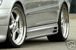 Mercedes Genuine Rieger W203 C Class Side Skirts New
